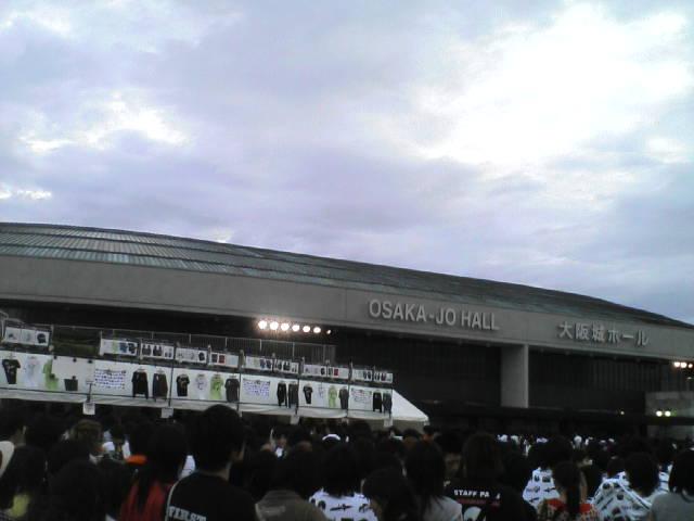 大阪城ホール'追加公演初日'