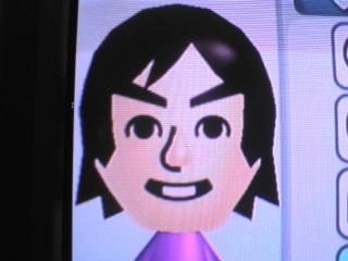 WiiのMiiで、山森さん